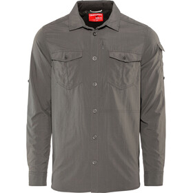 Craghoppers NosiLife Adventure II Camisa de manga larga Hombre, black pepper